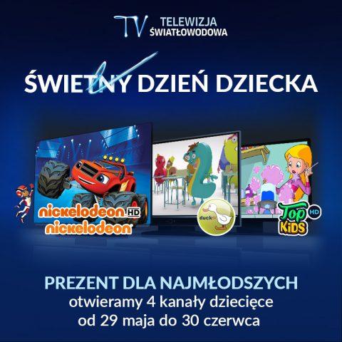 Dzień Dziecka w Telewizji Światłowodowej